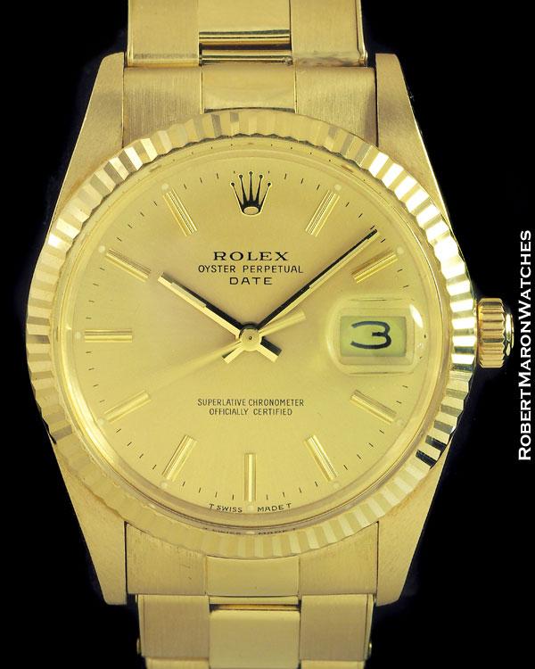 Rolex ostra perpetua vintage